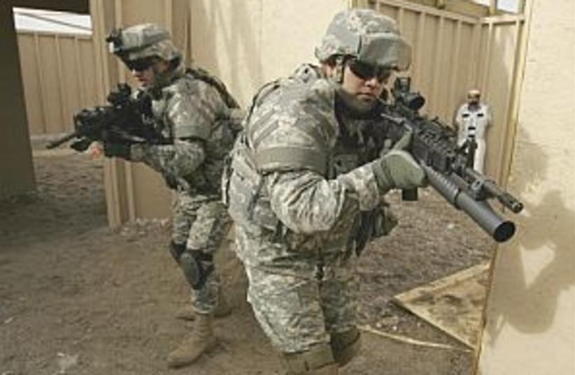 Iraq training 298.88 (photo credit: AP)