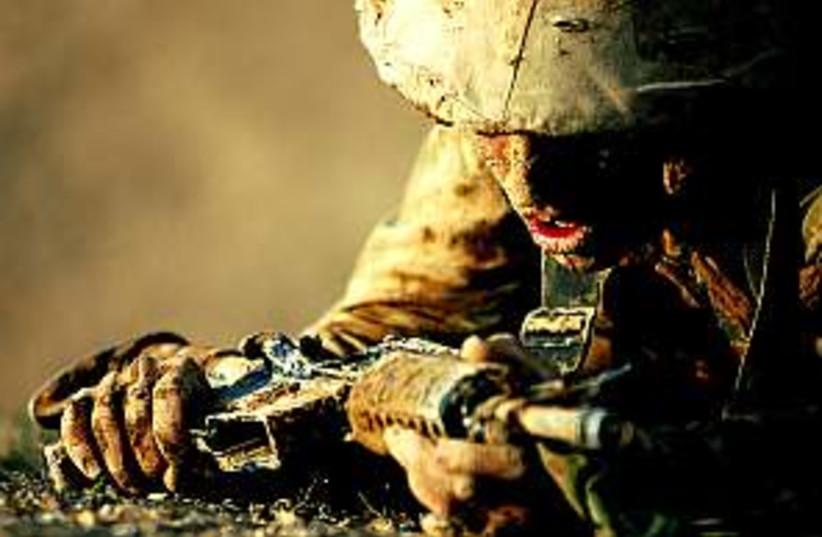 nahal soldier mud 298 (photo credit: IDF)