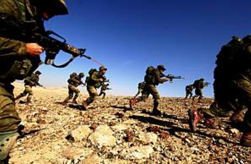 soldiers troops idf  (photo credit: IDF)