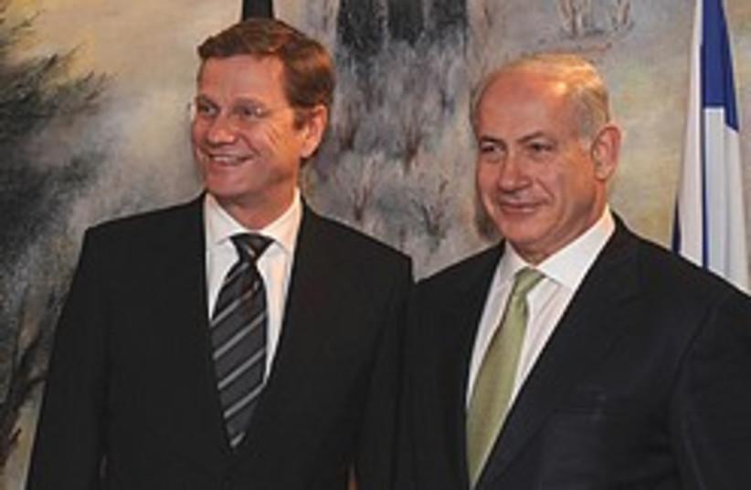 netanyahu westerwelle 248.88 (photo credit: GPO)