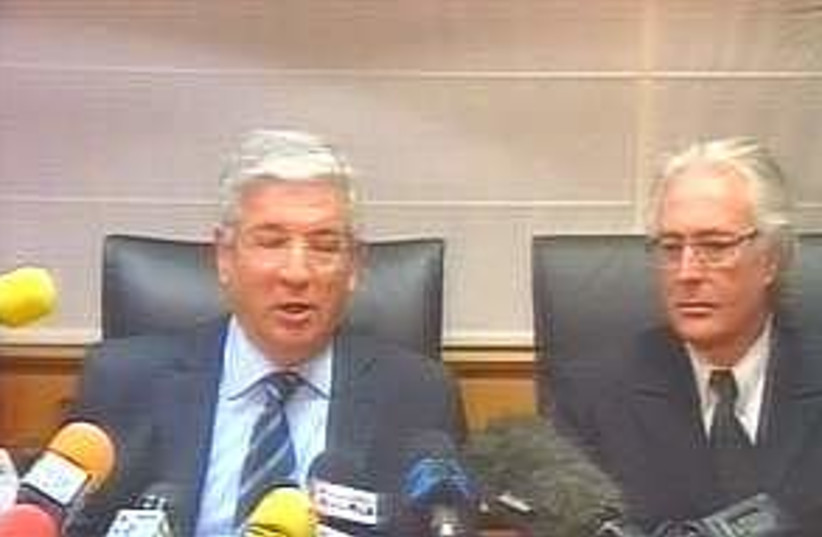 katsav lawyers 298.88 (photo credit: Channel 2)