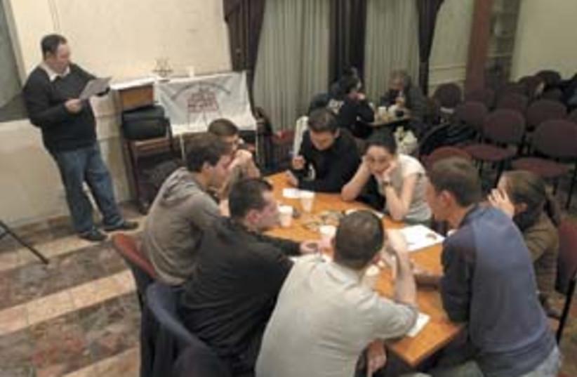 russians immigrants meet (photo credit: Ariel Jerozolimski)