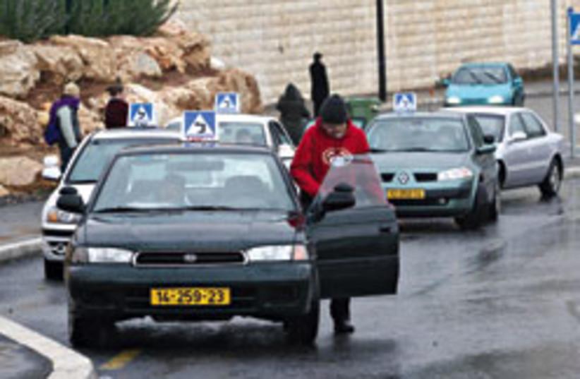 lamedim student drivers 248 88 (photo credit: Ariel Jerozolimski)