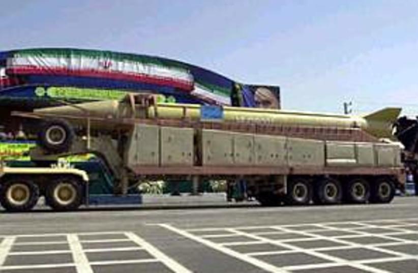 shahab 3 missile 298.88 (photo credit: AP [file])