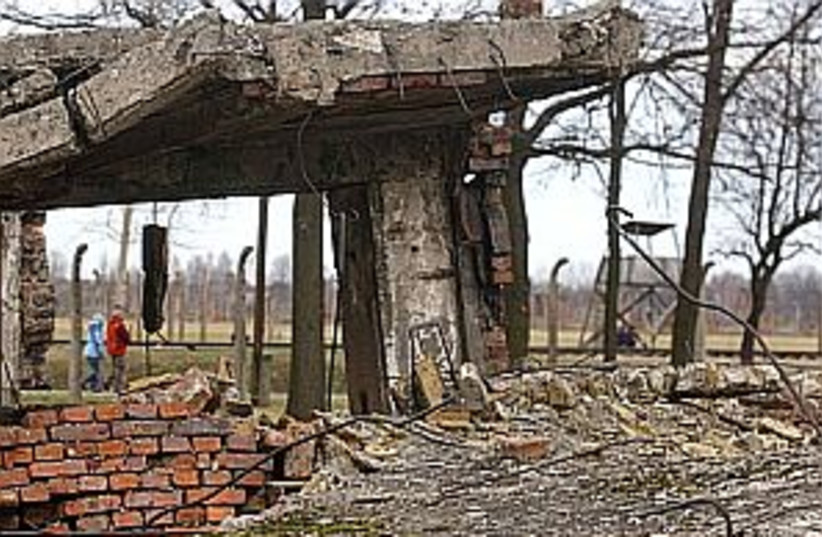 gas chamber 298 ap (photo credit: AP)