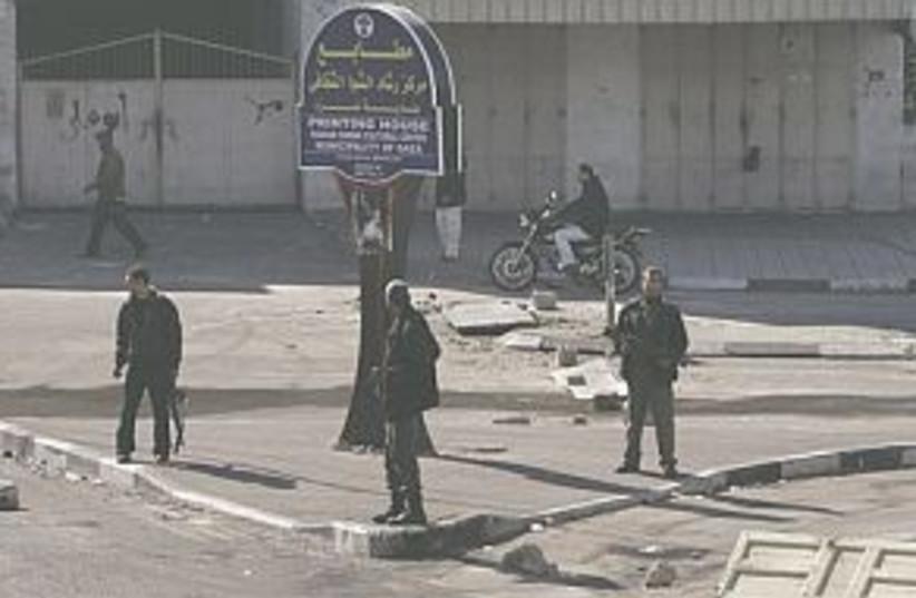 gaza gunmen 298.88 (photo credit: AP)