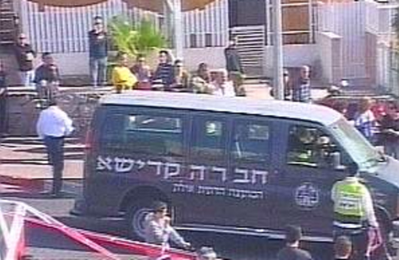 eilat bombing kadisha (photo credit: Channel 2)