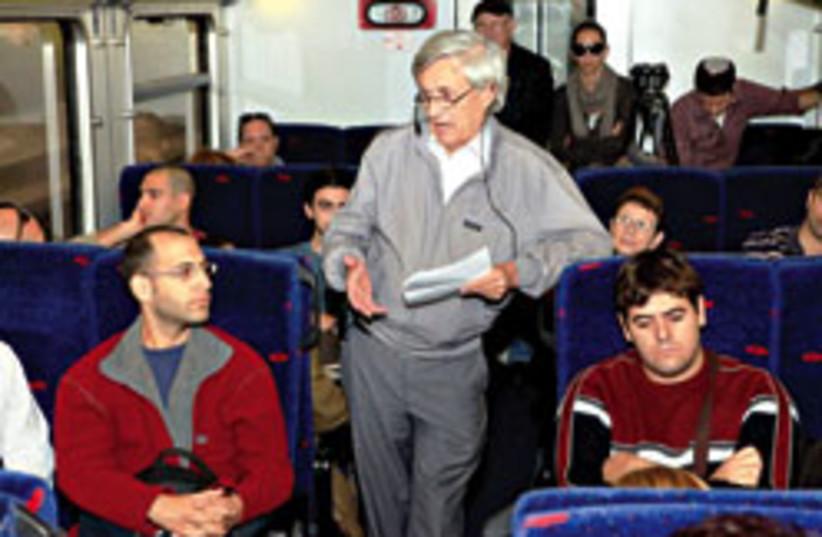 professors trains 248 88 (photo credit: Rafi Delaya)