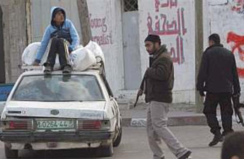 Hamas gunmen 298.88 (photo credit: AP)