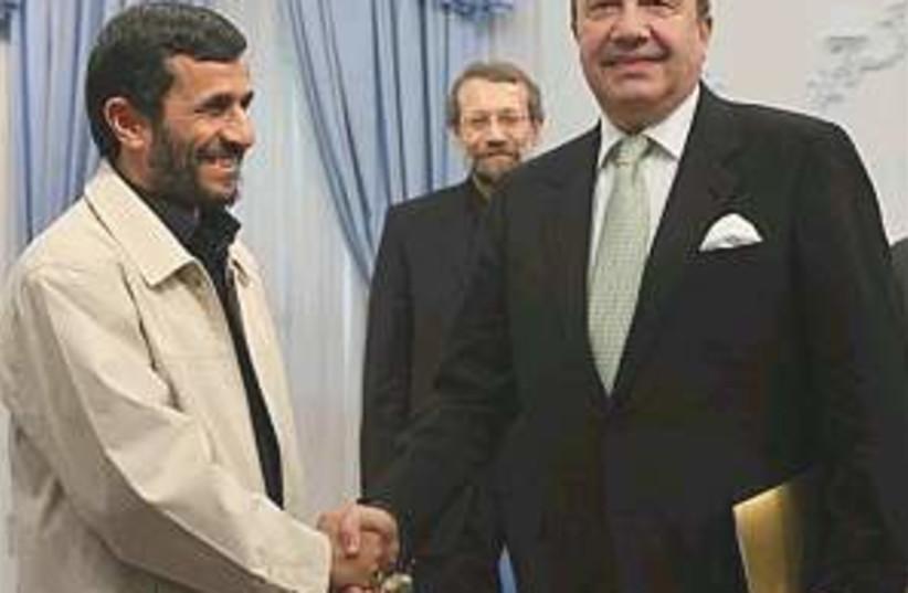 Ahmadinejad russia 298.8 (photo credit: AP)