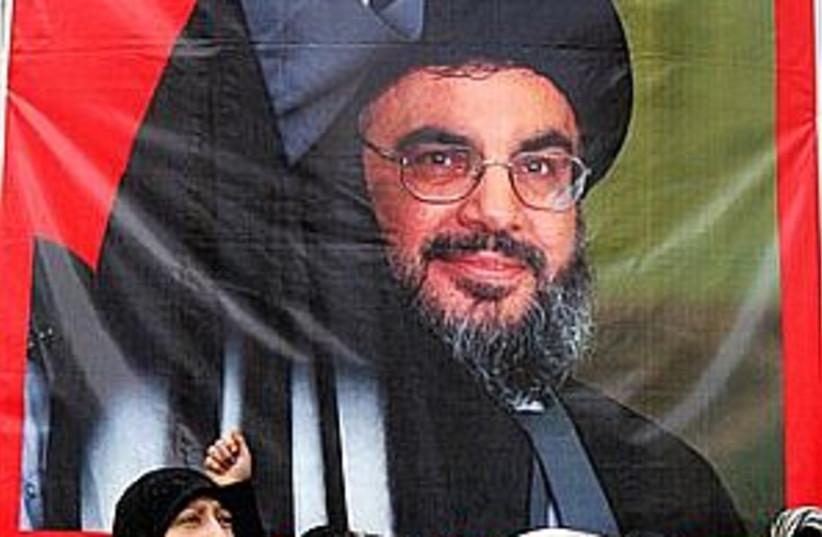 nasrallah 298.88 (photo credit: AP)