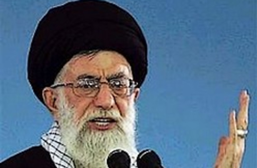 Ayatollah Ali Khamenei iran 248 88 ap (photo credit: AP [file])