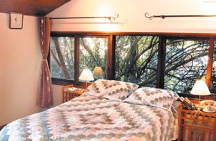bedroom wood 88 298 (photo credit: Eyal Izhar)