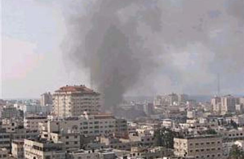 Gaza smoking 298.88 (photo credit: AP)