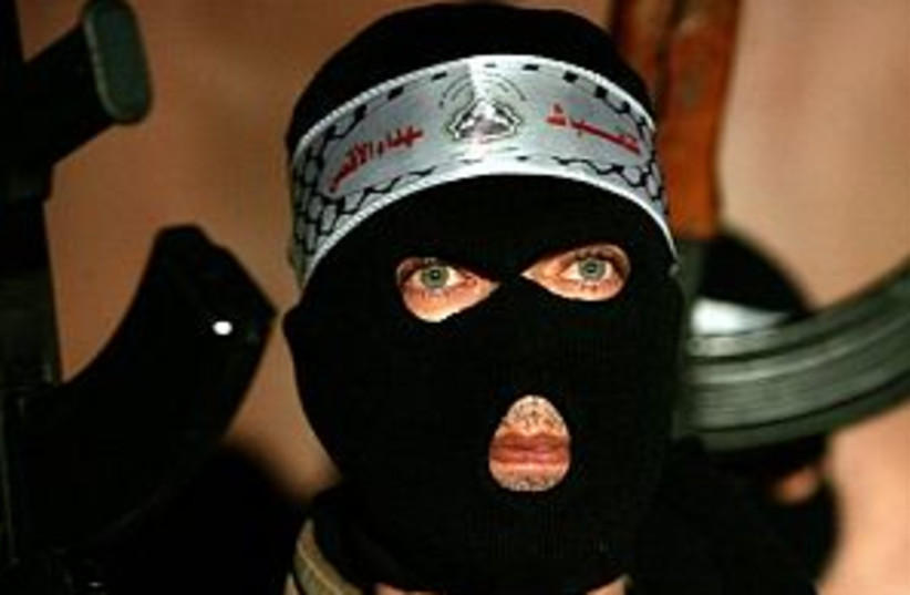 al-aksa gunman 298.88 (photo credit: AP [file])
