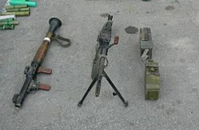 weapons pic 298.88 (photo credit: IDF)