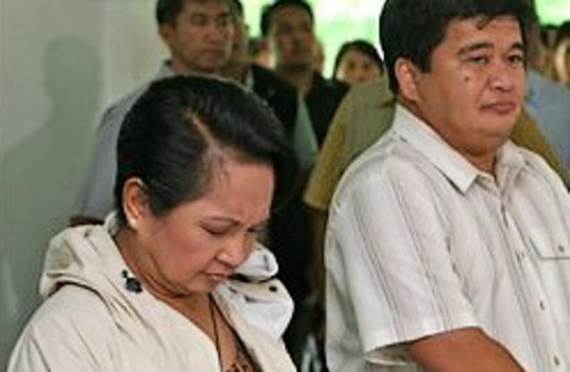 Phillipines Elections Massacre (photo credit: )