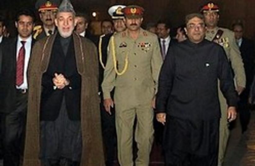 Hamid Karzai 248.88 ap (photo credit: AP)
