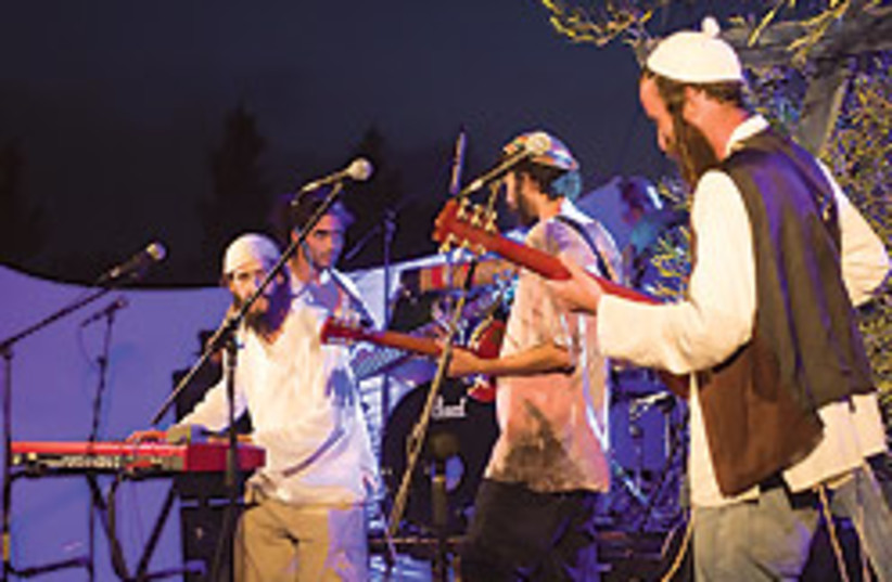 The festival combines reggae with Jewish texts and (photo credit: PR)
