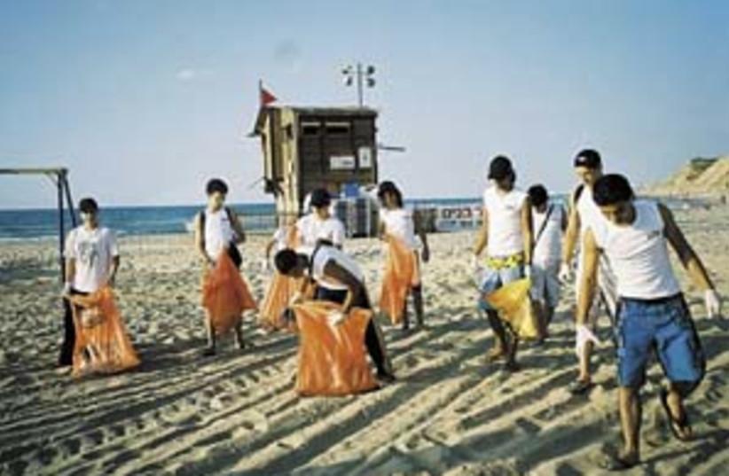 beach clean up 298 (photo credit: Sagit Rogenstein)