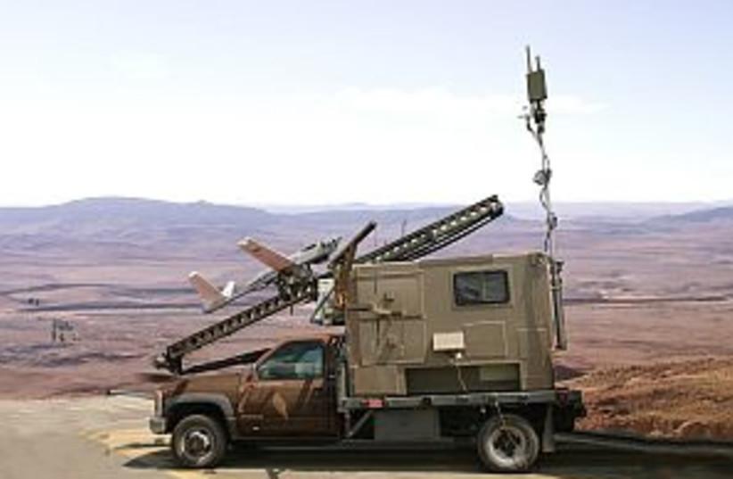 IAF launcher 298.88 (photo credit: IDF)