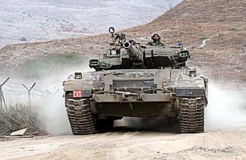 idf tank lebanon 298.88 (photo credit: Ariel Jerozolimski [file])