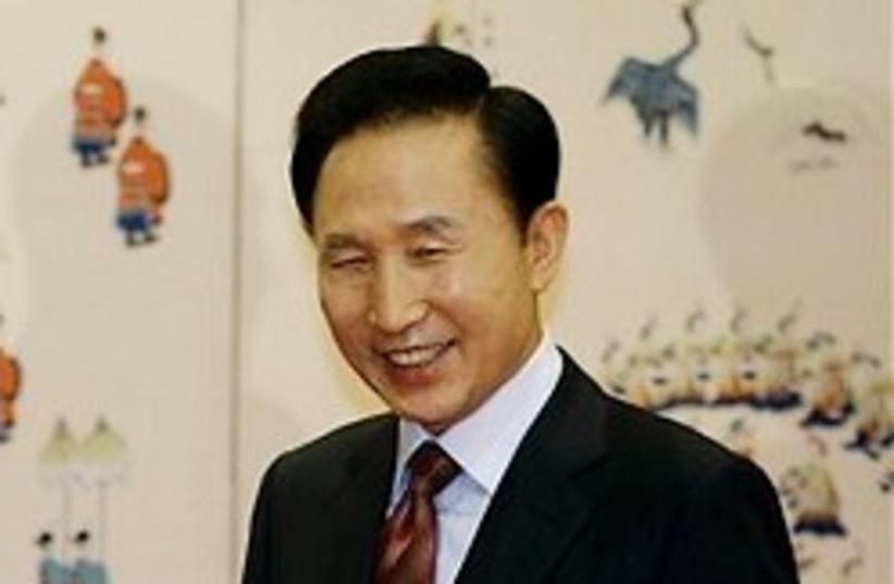 lee myung bak 248.88 (photo credit: AP)