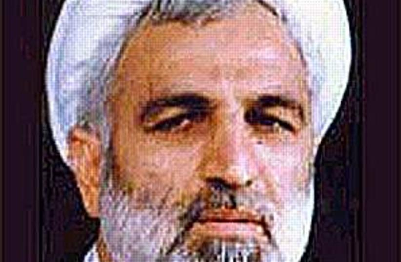 irani intel minister 298 (photo credit: Courtesy)