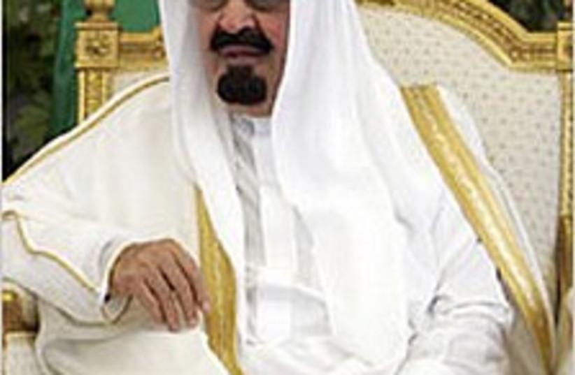 Saudi King Abdullah. (photo credit: AP)
