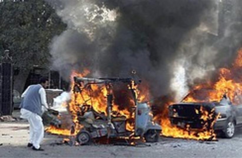 Pakistani bomb fire 248.88 (photo credit: )