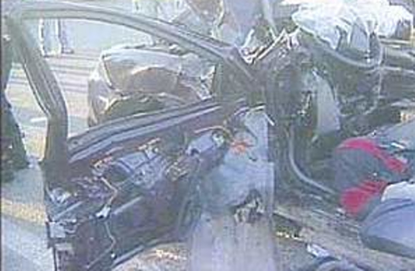 crash 298.88 (photo credit: Channel 1)