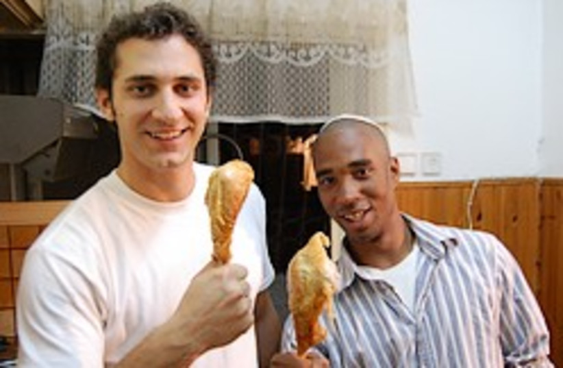 thanksgiving turkey legs 248.88 (photo credit: Brian Blondy)