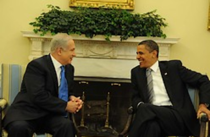 Prime Minister Binyamin Netanyahu (left) and US Pr (photo credit: AP)