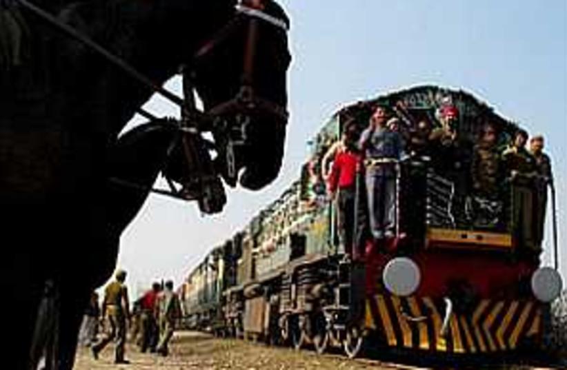train india 298.88 ap (photo credit: AP)