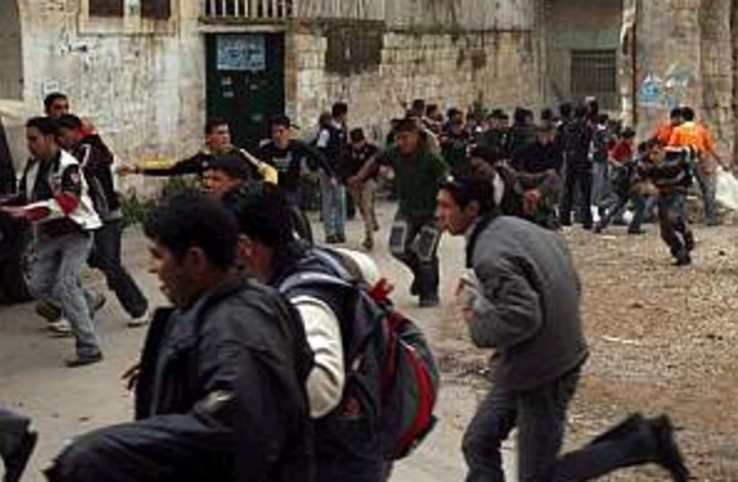 palestinians nablus 298. (photo credit: AP)