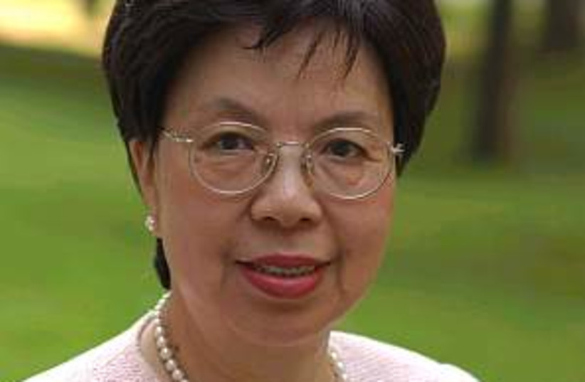 margaret chan 298.88 (photo credit: WHO)