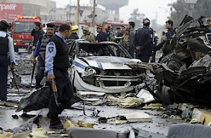 Baghdad car bomb 248.88 (photo credit: )