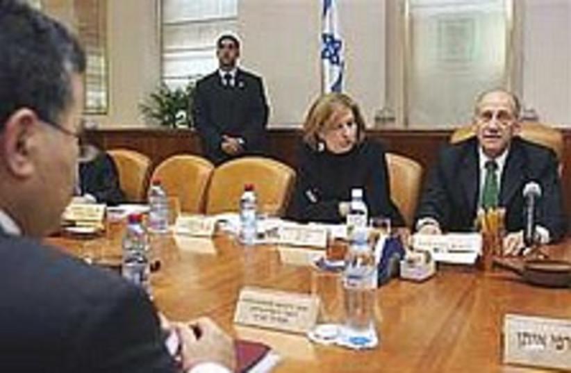 cabinet meeting 224.88 (photo credit: AP)