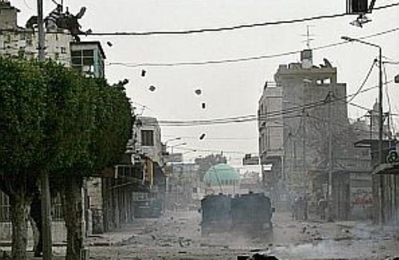 nablus jeeps 298 (photo credit: AP)