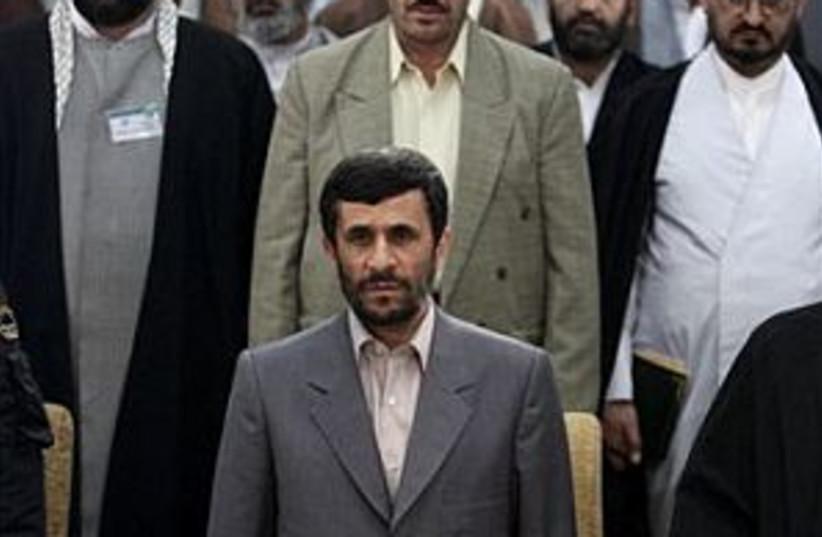 Ahmadinejad 298.88 (photo credit: AP [file])