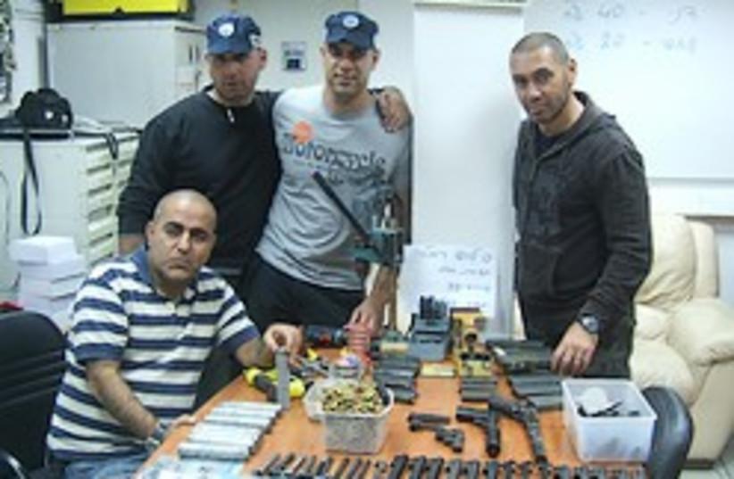 gun silencer factory 248.88 (photo credit: Israel Police)