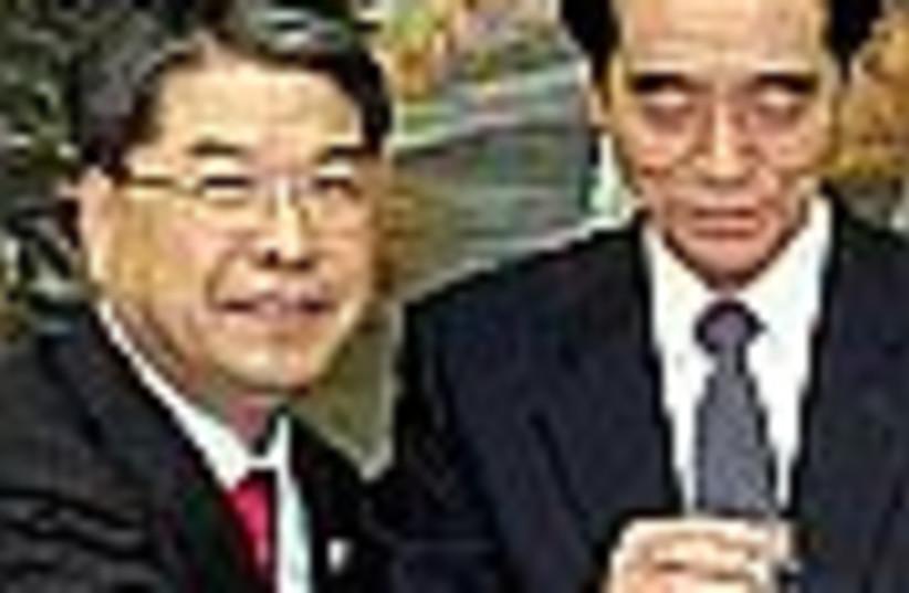 Korean talks (photo credit: )