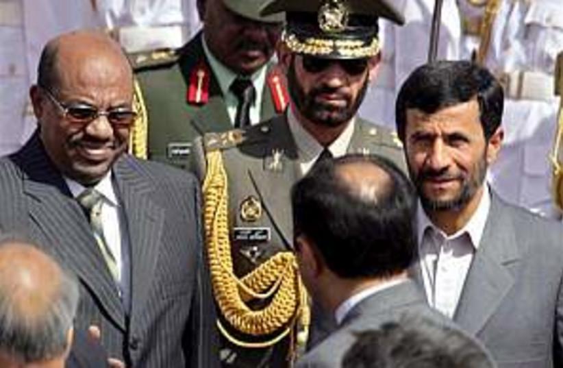Ahmedinejad Sudan 298.88 (photo credit: AP)