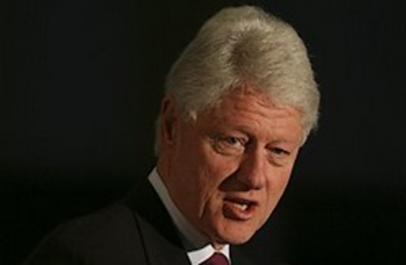 bill clinton dramatic 248.88 AP (photo credit: AP [file])