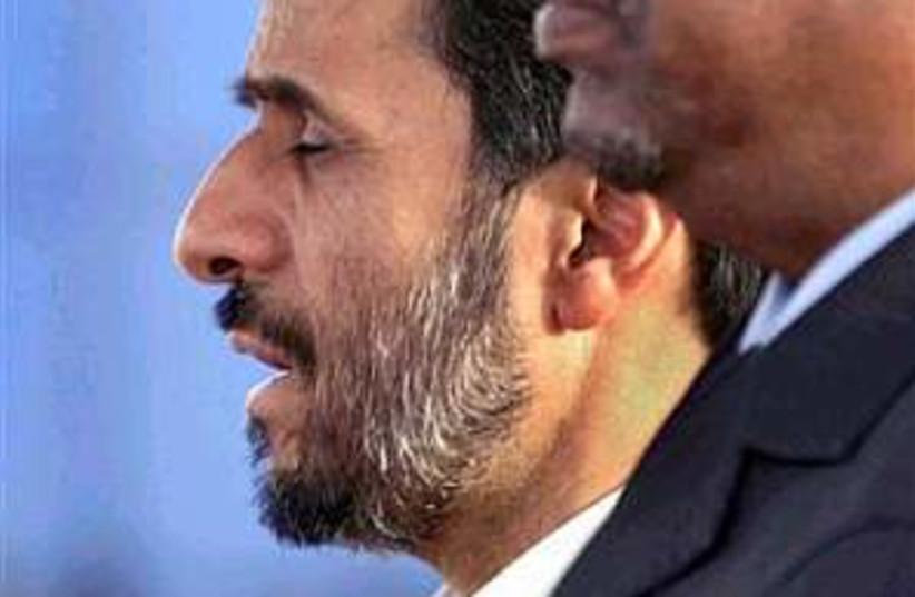 Ahmadinejad SUdan 298.88 (photo credit: AP)