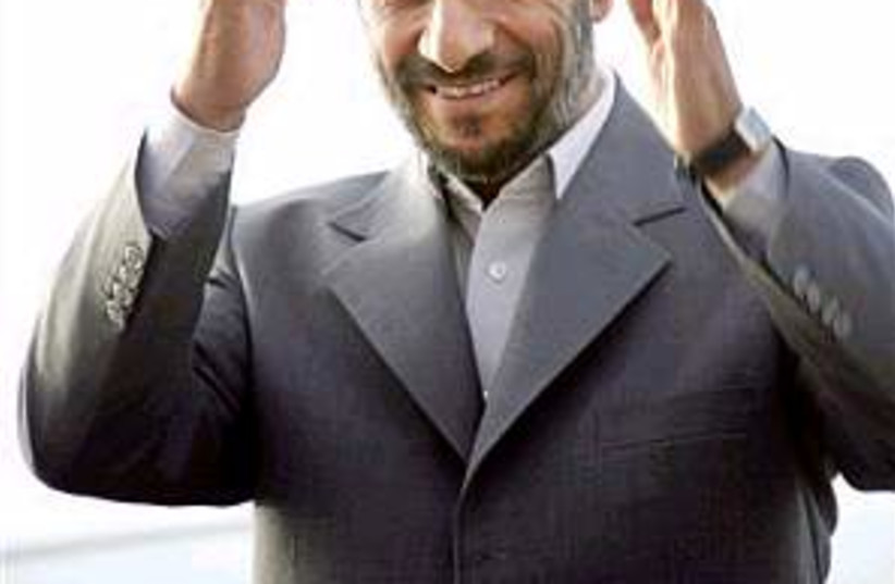 ahmadinejad 298.88 (photo credit: )