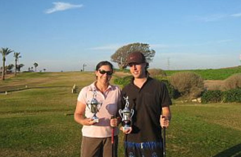 golfers 298.88 (photo credit: Courtesy Photo)