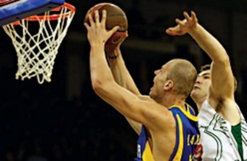 maccabi tel aviv basket 248.88 (photo credit: AP)