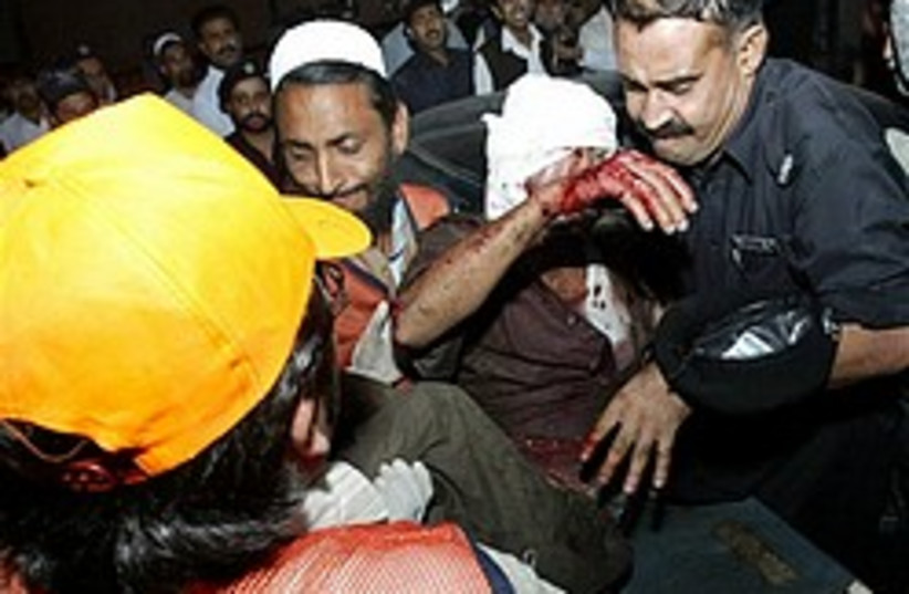 Peshawar bombing 248.88 (photo credit: )