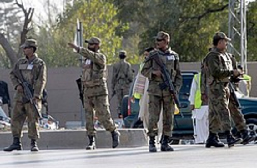 Pakistani soldiers suicide attack 248.88 (photo credit: )